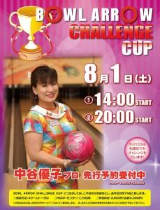 中谷優子プロチャレンジマッチ